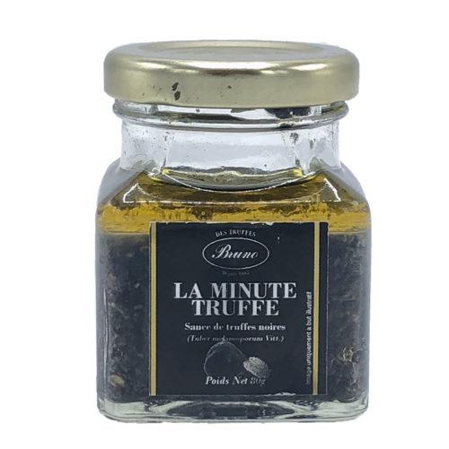 la minute truffe - chez bruno - sauce brisure de truffes noires 80gr