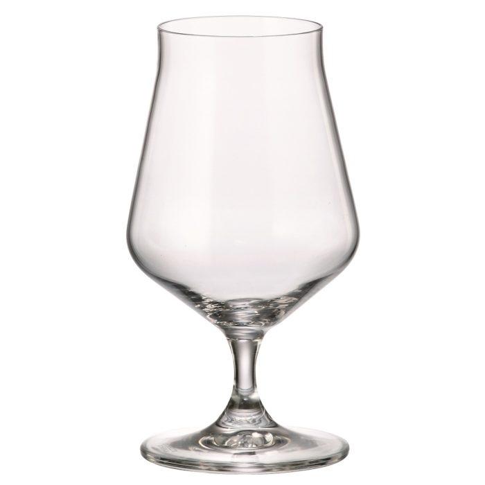 verre en cristal verre à cognac 300 ml - collection alca - maison cyna