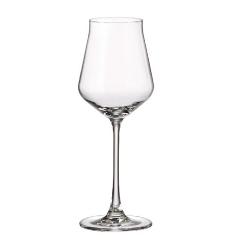 verre en cristal verre à vin blanc 310 ml - collection alca - maison cyna