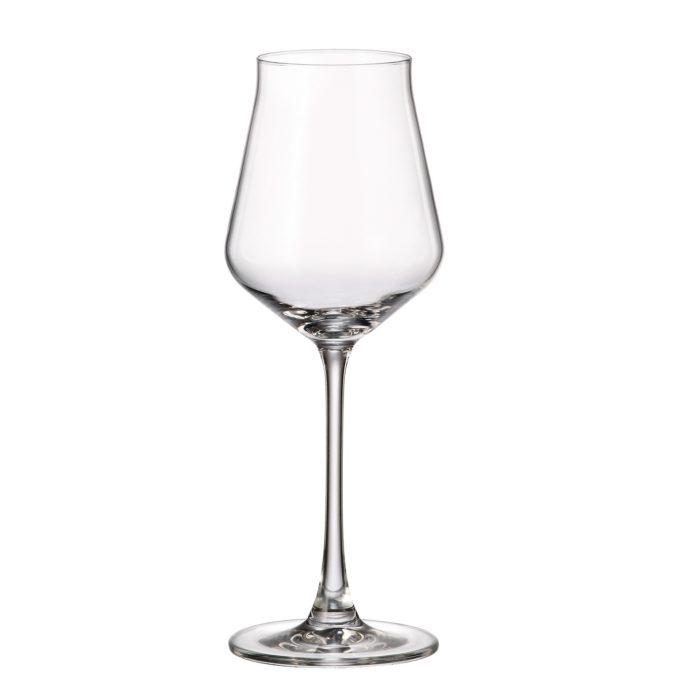 verre en cristal verre à vin blanc 310 ml - collection alca - maison cyna
