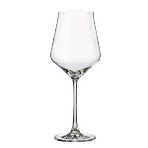 verre en cristal verre à vin rouge 500 ml - collection alca - maison cyna
