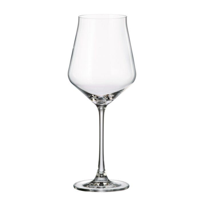 verre en cristal verre à vin rouge 500 ml - collection alca - maison cyna